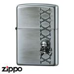 Skull Zippo - Bones  (Offset)
