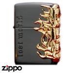 Skull Zippo - Lost World  (Skull)