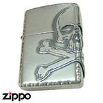 Skull Zippo - Jolly Roger