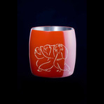 Titanium Japanese Lacquer Cup by Rhus  (Inebriated Friends)
