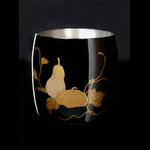 Titanium Japanese Lacquer Cup by Rhus  (Fruits of the Earth)