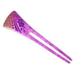 Titanium Hair Stick  (Violet)