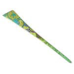 Titanium Hair Stick  (Birds - Wild Grass)