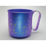 Titanium Mug Cup - Winter  (Evening Snow)