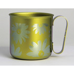 Titanium Mug Cup - Bloom  (Yellow)