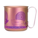 Titanium Mug Cup - Pigs  (Pink)