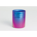 Double-Walled Titanium Mug Cup - Small  (Violet Blue)