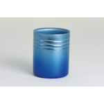 Double-Walled Titanium Mug Cup - Small  (Gradation Blue)