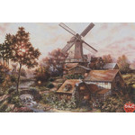 Klaus Strubel - Windmill Forest 300 Piece Jigsaw Puzzle