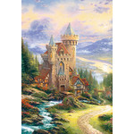 Thomas Kinkade - Hill with a View 2000 Small Piece Jigsaw Puzzle