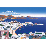 Thomas McKnight - Mykonos Panorama 1000 Micro Piece Jigsaw Puzzle