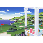Thomas McKnight - Seaside Golf 1000 Micro Piece Jigsaw Puzzle