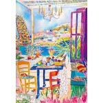 Jennifer Markes - Breakfast in Tripoli 2000 Small Piece Jigsaw Puzzle