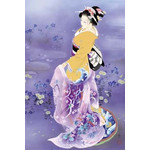 Violet Grace - Japanese Design 1000 Piece Jigsaw Puzzle