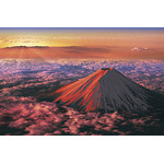 Scenes from Japan - Red Fuji 1000 Piece Jigsaw Puzzle