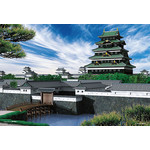 Scenes from Japan - Edo Castle 1000 Micro Piece Jigsaw Puzzle
