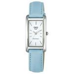 Citizen Q&Q - Pastel Color Square Fashion Watch 6509-311 (Blue)