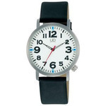 Citizen Q&Q - Universal Design Ultra Light Watch with Luminous Face W676-355 (Black)