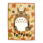 My Neighbor Totoro - Blanket  (Autumn Leaves)