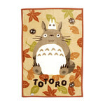 My Neighbor Totoro - Half Blanket  (Autumn Leaves)
