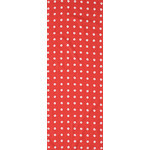 Shibori Rings - Tenugui (Japanese Multipurpose Hand Towel) - Crimson
