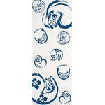 Daruma - Tenugui (Japanese Multipurpose Hand Towel) - Cerulean