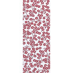 Morning Glory in the Summer - Mini Tenugui (Japanese Multipurpose Hand Towel) - Red