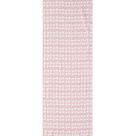 Snowman - Mini Tenugui (Japanese Multipurpose Hand Towel) - Pink