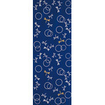Dragonflies in the Autunm - Mini Tenugui (Japanese Multipurpose Hand Towel) - Blue