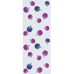 Aubergine - Mini Tenugui (Japanese Multipurpose Hand Towel)