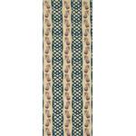 Pinapple - Mini Tenugui (Japanese Multipurpose Hand Towel) - Beige