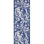 Hula - Mini Tenugui (Japanese Multipurpose Hand Towel) - Blue