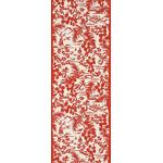 Hula - Mini Tenugui (Japanese Multipurpose Hand Towel) - Red