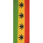 Rastafari - Mini Tenugui (Japanese Multipurpose Hand Towel) - Ganja