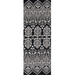 Lace - Tenugui (Japanese Multipurpose Hand Towel) - Black