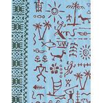Petroglyphs - Mini Tenugui (Japanese Multipurpose Hand Towel)