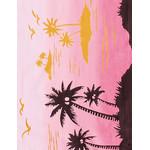 Sunset - Mini Tenugui (Japanese Multipurpose Hand Towel)