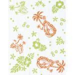 Tahiti - Mini Tenugui (Japanese Multipurpose Hand Towel)