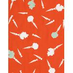 Mini Carrots - Mini Tenugui (Japanese Multipurpose Hand Towel)