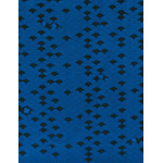 Chidori - Mini Tenugui (Japanese Multipurpose Hand Towel) - Blue