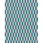Arrows - Mini Tenugui (Japanese Multipurpose Hand Towel) - Blue