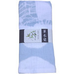 Naturally Dyed Double Gauze Towel  - Gardenia Blue