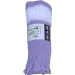 Naturally Dyed Cotton Scarf  - Lac Violet