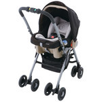 EX COMBI Multi 5 Way Baby Stroller (Ultimate Black)