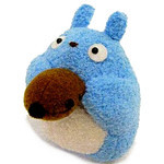 Ocarina-Playing Chu-Totoro Plush Mascot