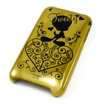 iPhone 3G/3GS Shell Jacket Looney Tunes Tweetie (Gold)