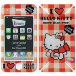 iPhone 3G/3GS Gizmobies Hello Ktty Case (I love candy)