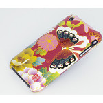 Floral Butterfly iPhone 3G/3GS Shell Jacket