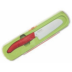 Kyocera - Ceramic Knife with Case for Kids (Red)