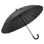 mabu - Ultralight 24 Rib Umbrella EDO (Laquer Black)